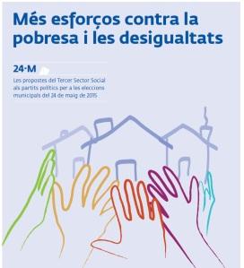 propostes del Tercer Sector Social als partits polítics per a les eleccions municipals del 24 de maig de 2015